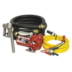 Fill-Rite - RD1212NH - Fill-Rite RD1212NH 12-Volt 12-Gpm DC Portable Transfer Pump w/ Hose and Nozzle