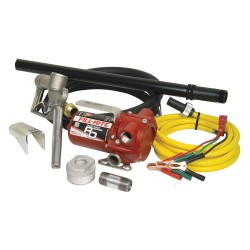 Fill-Rite - RD1212NP - Fill-Rite RD1212NP 12-Volt 12-Gpm Dc Portable Mounted Pump w/ Hose and Nozzle