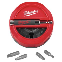 Milwaukee Electric Tool - 48-32-1700 - Screwdriver Bit Set, 1/4 In Hex, 20 PC