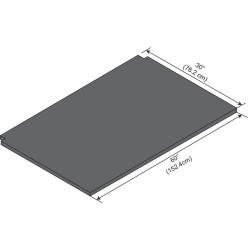 ICI - EPWS-60 - Work Surface, Phenolic, 1in.H