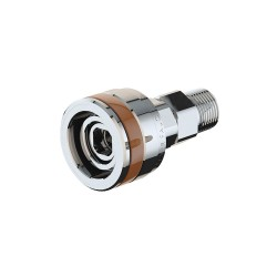 ICI - QED-N - Stainless Steel Quick Connect Fitting with Female Connection Type for Nitrogen, Brown