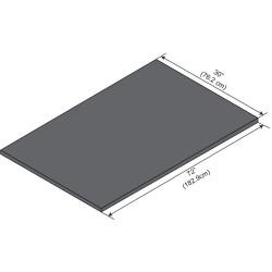 ICI - ELE7230-1 - Work Surface, Epoxy, 72in.W, 30in.L