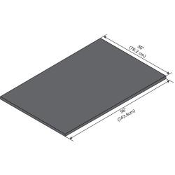 ICI - ELE9630-1 - Work Surface, Epoxy, 96in.W, 30in.L