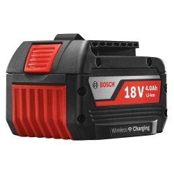 Bosch - WCBAT620 - Bosch WCBAT620 18-Volt 4.0Ah LED Single-Cell Wireless Charging Battery