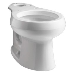 Kohler - K-4197-0 - Toilet Bowl, Floor Mounting Style, Round, 1.28 to 1.6 Gallons per Flush