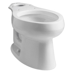 Kohler - K-4198-0 - Toilet Bowl, Floor Mounting Style, Elongated, 1.28 to 1.6 Gallons per Flush