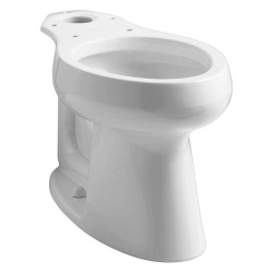 Kohler - K-4199-0 - Toilet Bowl, Floor Mounting Style, Elongated, 1.28 to 1.6 Gallons per Flush