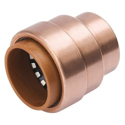 Pro Line - 653-003HC - Copper Copper Push Fit Cap, 1/2 Tube Size