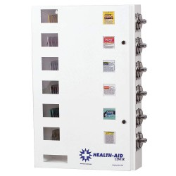 SYNERGY - HA6-FV - 20 x 5-1/2 x 29-1/2 Medicine Vending Machine, White; Price per item: Free