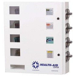 SYNERGY - HA4-25 - 20 x 5-1/2 x 21 Medicine Vending Machine, White; Price per item: 0.25
