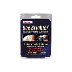 Airsept - 60650 - Headlight Lens Restoration Kit, Clr, 1 oz.