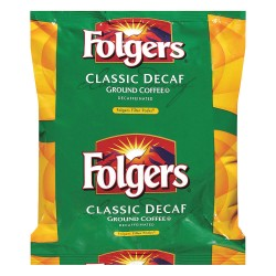 Folgers - 2550006122 - Decaffeinated Coffee, 0.90 oz., Package Quantity 40