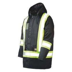 Richlu - S17611-L-BLK - Hi-Vis Jacket, Black, L