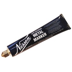 Nissen - 00252 - Permanent High Purity Marker with 3/16 Tip Size, White