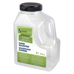 Golden Environmental Products - GE-S-4L - Volcanic Minerals, Polymers Solidifer, Container Size: 4.2 qt.