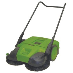 Bissell BigGreen - BG477 - Push Sweeper, 31 in.W, 13.2 gal, WalkBehind