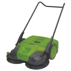 Bissell BigGreen - BG497 - Push Sweeper, 38 in.W, 13.2 gal, WalkBehind