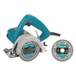 "Makita - 4100NHX1 - 4-3/8"" Masonry Saw W/ Free Diamond Blade"