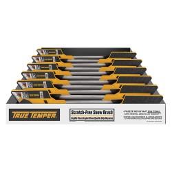 Ames True Temper - ABTT3612GR - Snow Brush with 36 Telescopic Handle, Black/Yellow