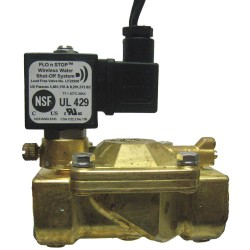 Midco - 22958 - 120VAC Brass Solenoid Valve, Normally Closed, 1 Pipe Size