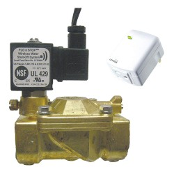 Midco - 22968 - 120VAC Brass Solenoid Valve, Normally Closed, 1 Pipe Size