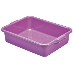 The Vollrath Company - 1511-C80 - 20 x 15 x 5 Polyethylene Perforated Drain Box, Purple