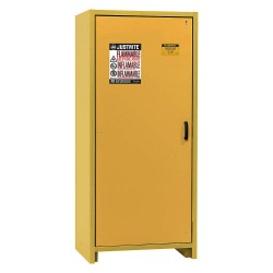 Justrite - 22601 - Justrite 30 Gallon Yellow EN Flammable Steel Safety Cabinet For Flammables, ( Each )