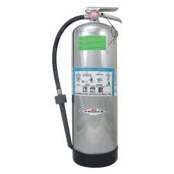Amerex - MODEL 250 - Foam Fire Extinguisher with 2.5 gal. Capacity and 55 sec. Discharge Time