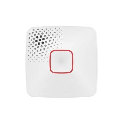 First Alert - DC10-500B - 5-29/64 Smoke and Carbon Monoxide Alarm with 85dB @ 10 ft. Audible Alert; 3V Lithium