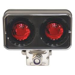 K&E Railhead - KE-LTRL-RED - Forklift Safety Light, LED, Red