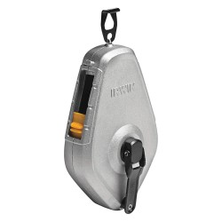 IRWIN Industrial Tool - 1932872 - Chalk Line Reel, 100ft., 8 oz., Silver Case