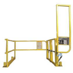 Garlock / EnPro Industries - 300843 - 44H Floor Mount Mezzanine Pivot Safety Gate; Opening Width: 5 ft.