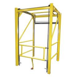 Garlock / EnPro Industries - 301348-6060 - 108H Floor Mount Vertical Safety Gate; Opening Width: 5 ft.