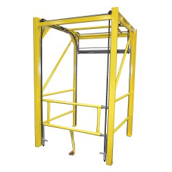 Garlock / EnPro Industries - 301348-9660 - 108H Floor Mount Vertical Safety Gate; Opening Width: 8 ft.