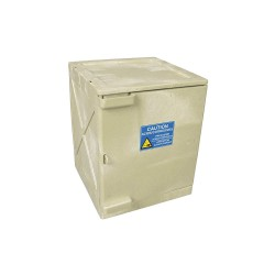 Eagle Mfg - M04BEI - Eagle M04BEI Modular Quik-Assembly Safety Cabinet Top, 4 Gal., 1 Door, 2 Shelves - Beige