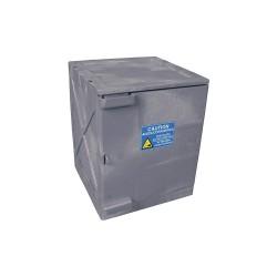 Eagle Mfg - M04GRAY - Bench Top, 4 gal. Capacity, 22 x 18 x 18, Gray, Polyethylene