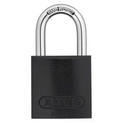 ABUS - 09181 - Black Keyed Padlock, Different Key Type, Aluminum Body Material