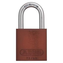ABUS - 09183 - Brown Keyed Padlock, Different Key Type, Aluminum Body Material