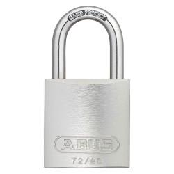 ABUS - 09188 - Silver Keyed Padlock, Different Key Type, Aluminum Body Material