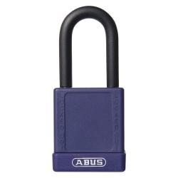 ABUS - 19674 - Purple Lockout Padlock, Alike Key Type, Master Keyed: No, Aluminum Body Material