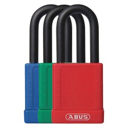 ABUS - 19710 - Assorted Lockout Padlock, Different Key Type, Master Keyed: No, Aluminum Body Material