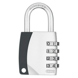 ABUS - 12825 - Combination Padlock, Resettable Side-Dial Location, 1-1/2 Shackle Height