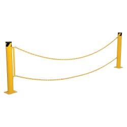 Vestil - DCBB-B-KIT - Steel Bollard Barrier Conversion Kit; For Use With Existing Bollards