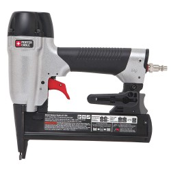 Porter Cable - NS150C - Air Finishing Stapler with Rear Exhaust, Pressure Range: 70 to 120 psi, Gray
