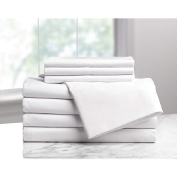 Dexter-Russel - 1B05910 - 94 x 68 Twin Polyester Blanket, White