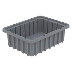 Akro-Mils / Myers Industries - 33103GREY - Divider Box, Gray, 3-1/2H x 10-7/8L x 8-1/4W, 1EA