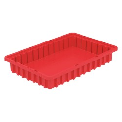 Akro-Mils / Myers Industries - 33162RED - Divider Box, Red, 2-1/2H x 16-1/2L x 10-7/8W, 1EA