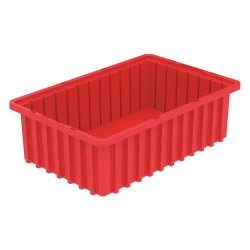 Akro-Mils / Myers Industries - 33165RED - Divider Box, Red, 5H x 16-1/2L x 10-7/8W, 1EA