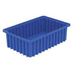 Akro-Mils / Myers Industries - 33165BLUE - Divider Box, Blue, 5H x 16-1/2L x 10-7/8W, 1EA