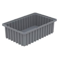 Akro-Mils / Myers Industries - 33165GREY - Divider Box, Gray, 5H x 16-1/2L x 10-7/8W, 1EA
